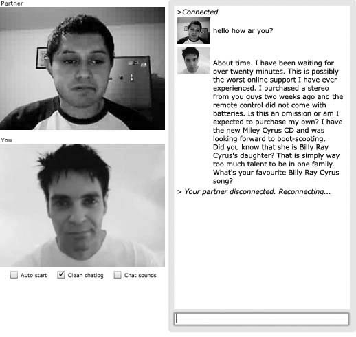 Chatroulette chat 9