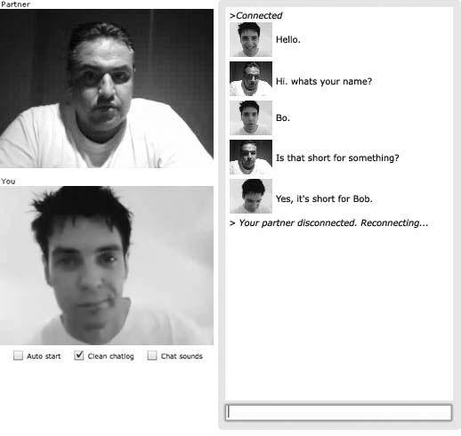 Chatroulette chat 2