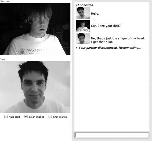 Chatroulette chat 1